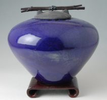 Blue Pottery by John Dodero